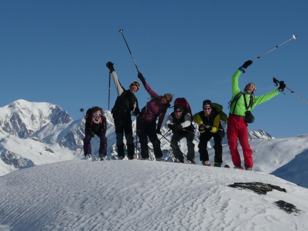 Montagne d'Outrey - Beaufortain - Jan 2013