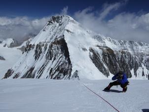 François Damilano à 7500m