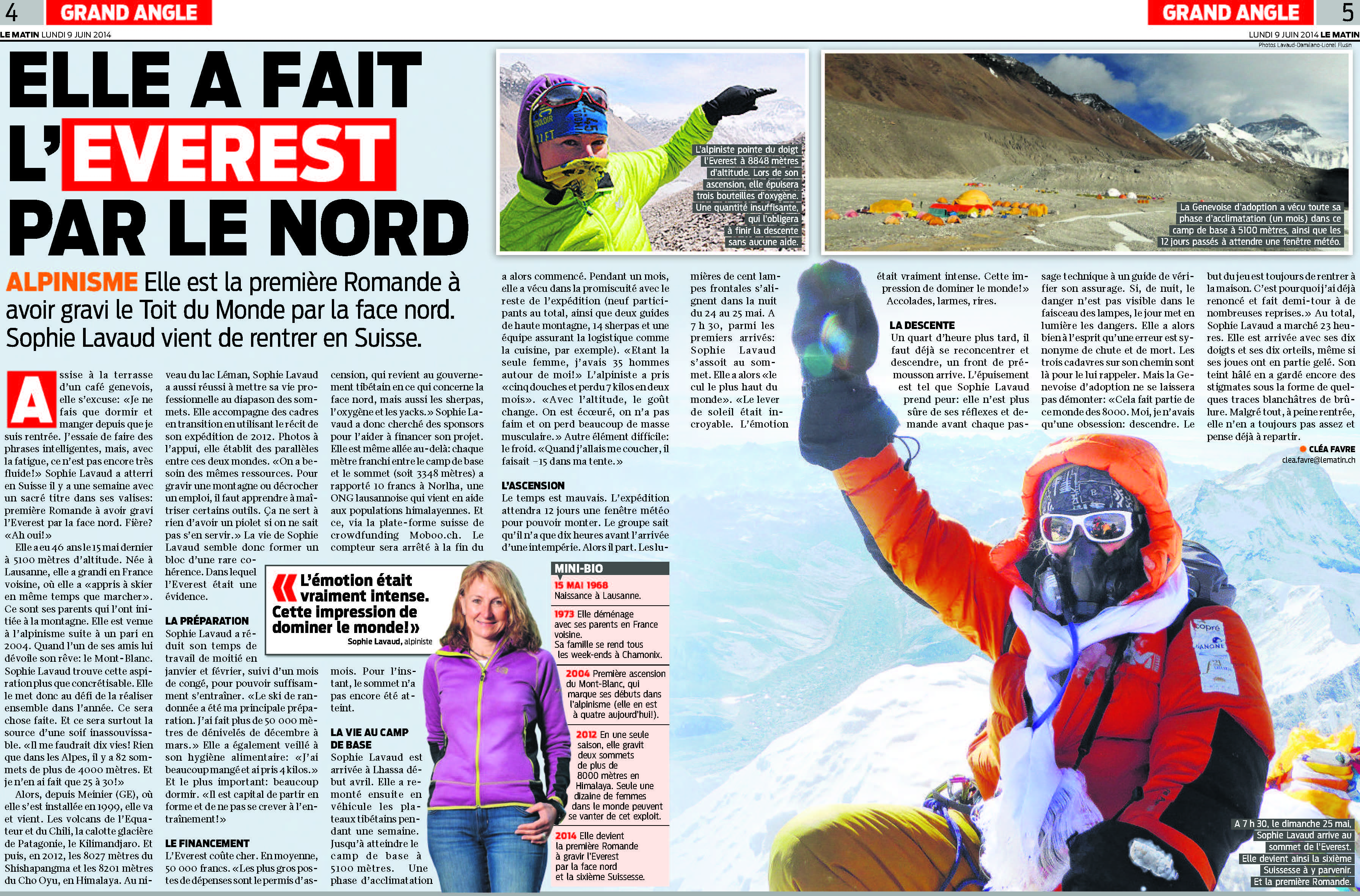 Article du Matin !