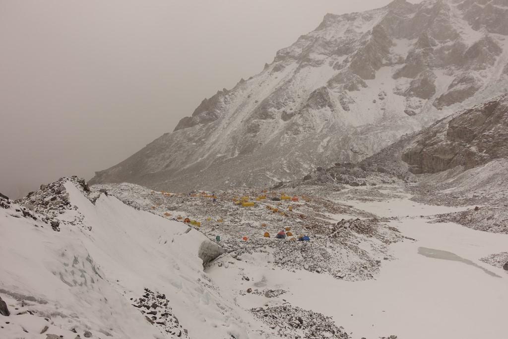 camp de base 5700m)