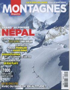 Couverture Montagne Mag_Jan2016