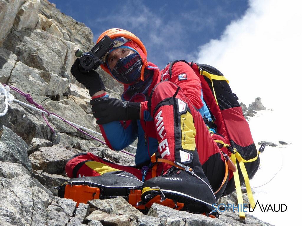 francois sur les pentes du K2