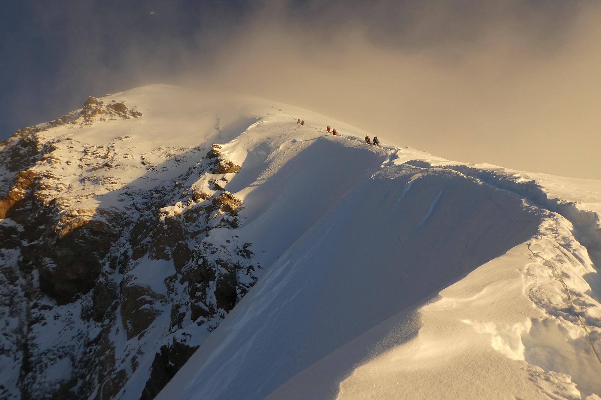 Première femme suisse à avoir atteint le sommet du K2